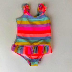 💕🔥3/$20 .OshKosh Rainbow One Piece Swimsuit